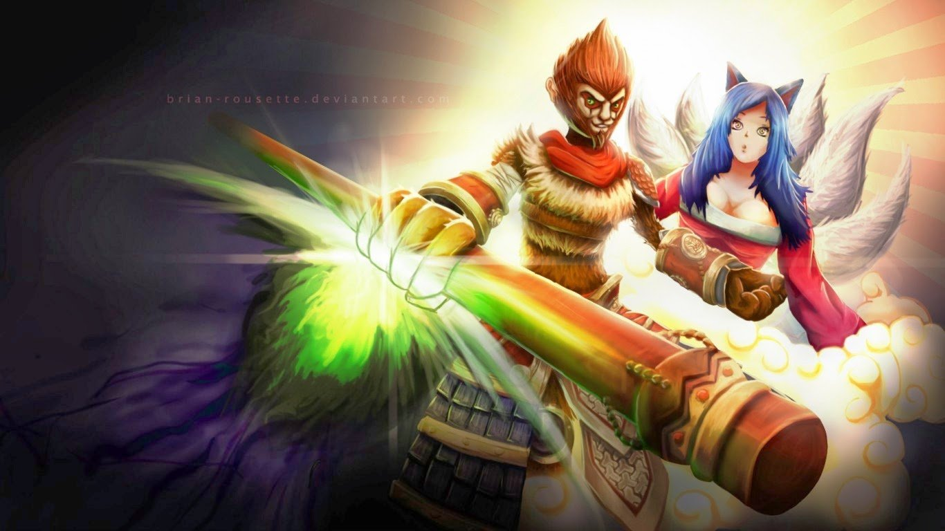 Wukong Desktop Backgrounds Wukong LOL Champion Wallpapers 1366x768