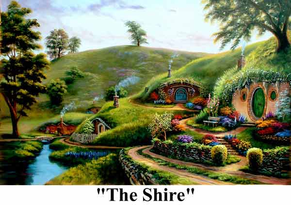The shire   Lord of the Rings Photo 24471220 600x424