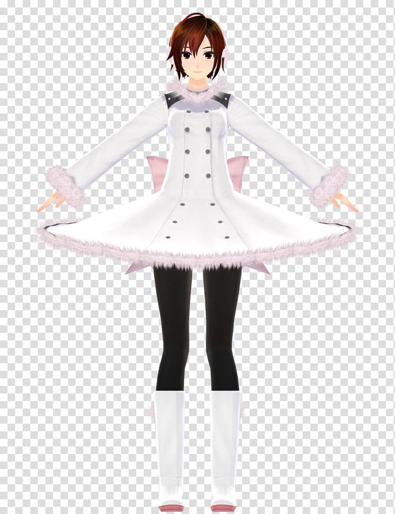 TDA Fluffy Coat Meiko WIP transparent background PNG clipart 783x1019