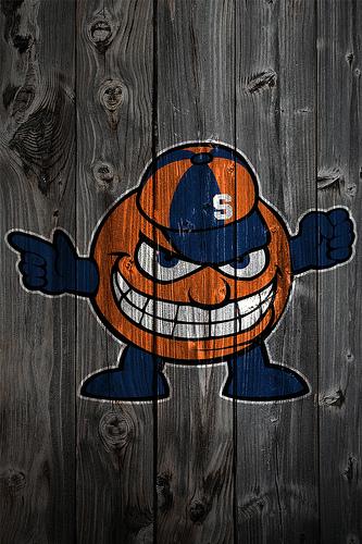 Syracuse Orange Wood iPhone 4 Background Flickr   Photo 333x500