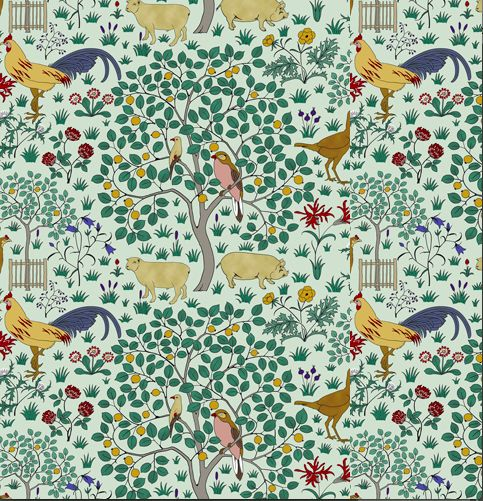 Trustworth Wallpaper In My Orchard Walls Wallpaper and Paint P 483x501