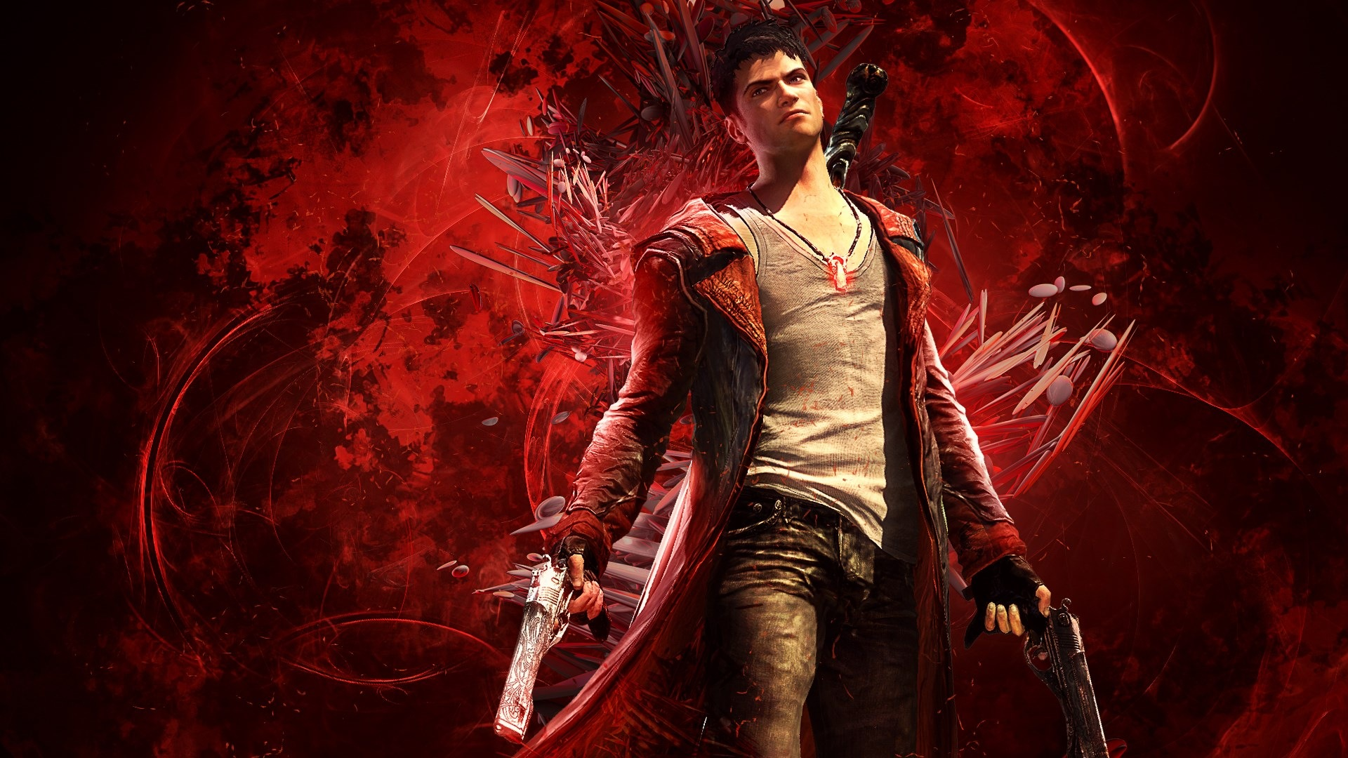 Free Download Devil May Cry Game Hd Wallpaper Ps3 Games Wallpapers