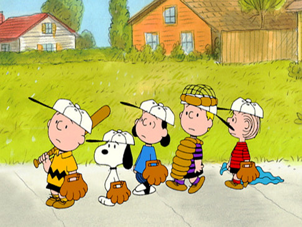 HD wallpaper Charlie Brown With Baseball Team Wallpaper Drqo by 1024x768
