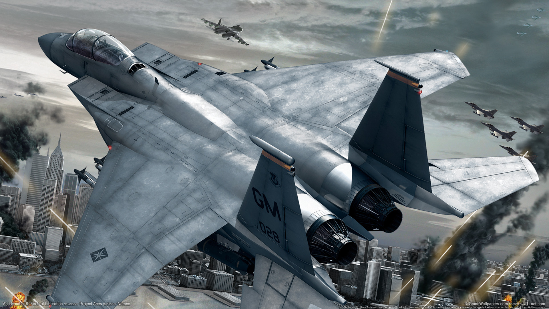 Ace Combat Fires Of Liberation Wallpapers HD Wallpapers 1920x1080
