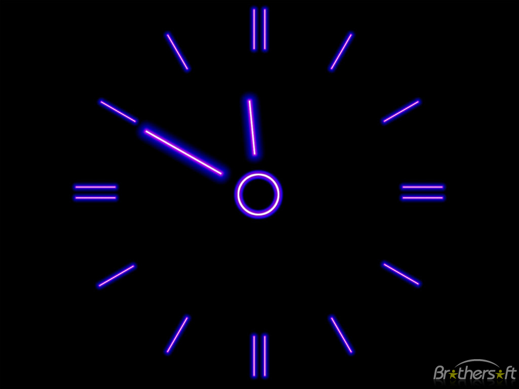 Download Brilliant Clock screensaver Brilliant Clock screensaver 1024x768