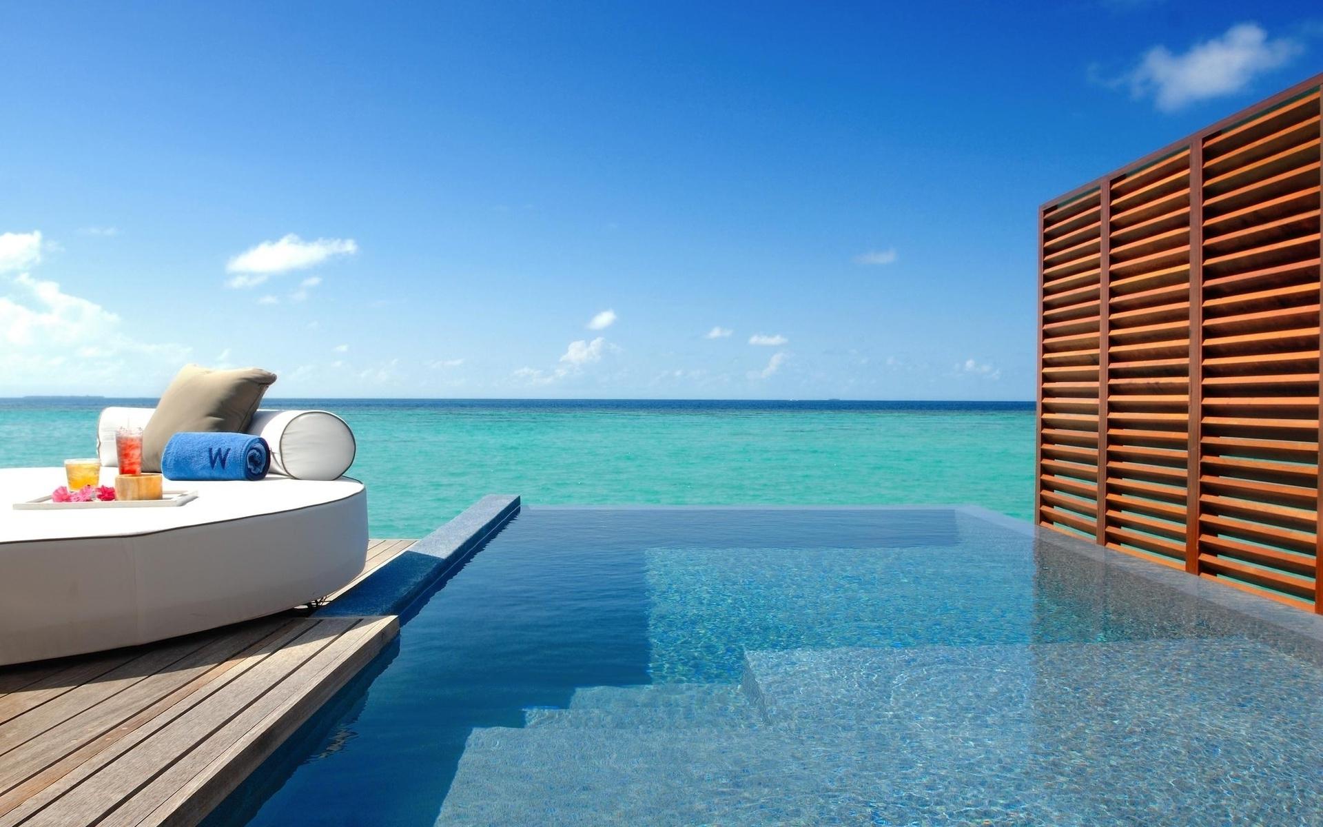 Exotic resort wallpaper 29416 1920x1200