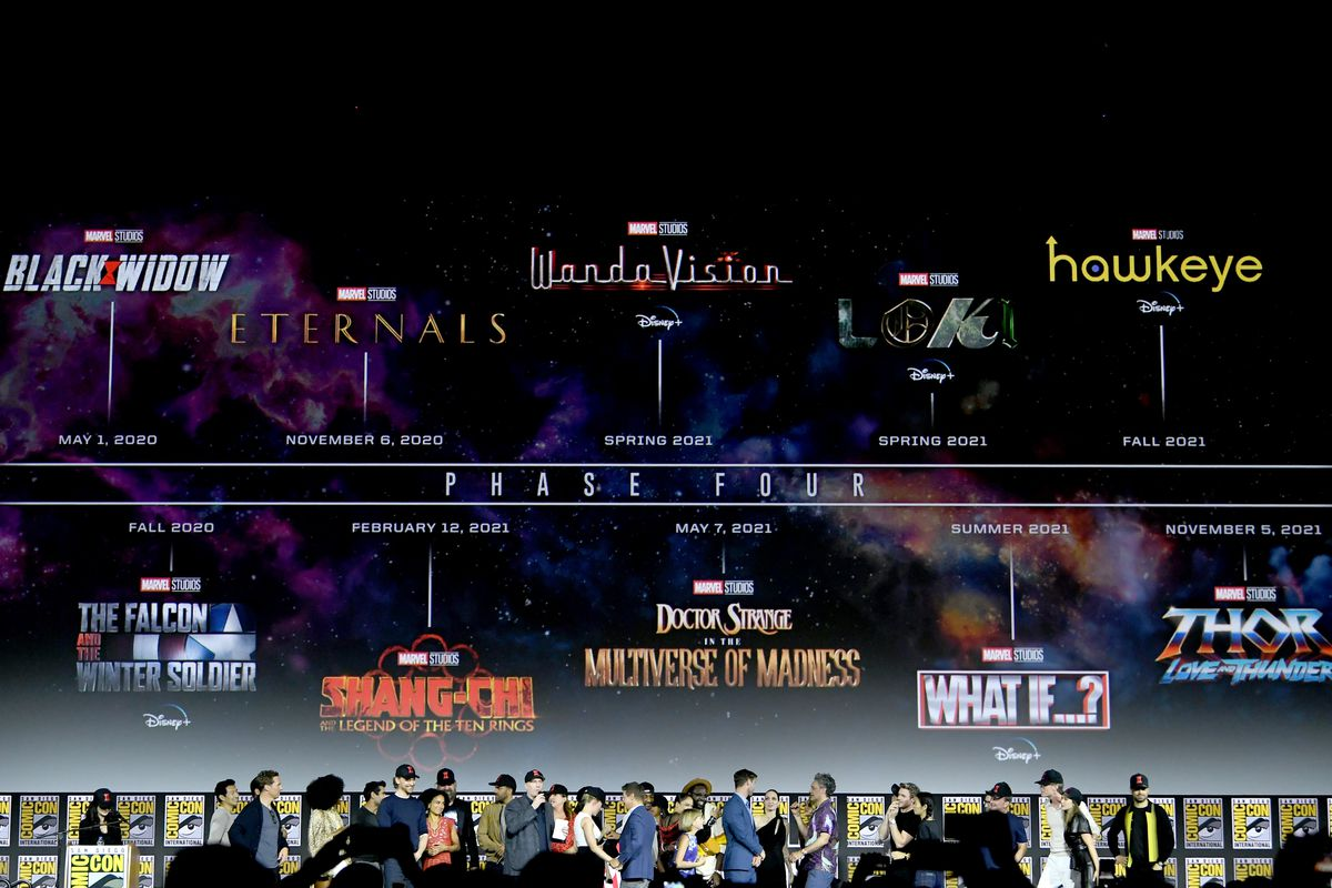 Marvel reveals massive Phase Four film and television plan   The Verge 1200x800