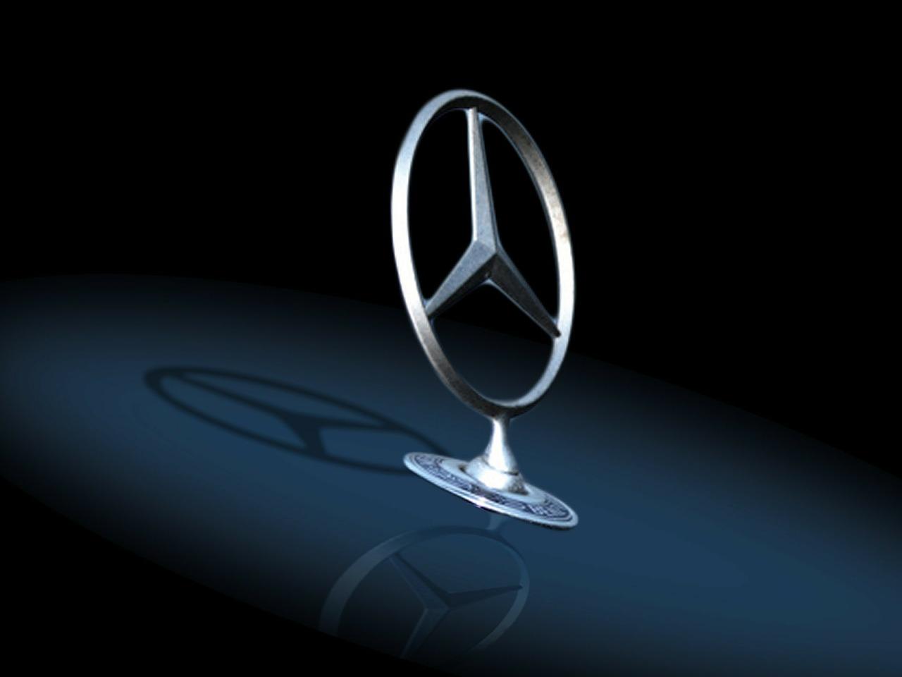 Mercedes Benz Logo Elegant Wallpaper | Galleryautomo