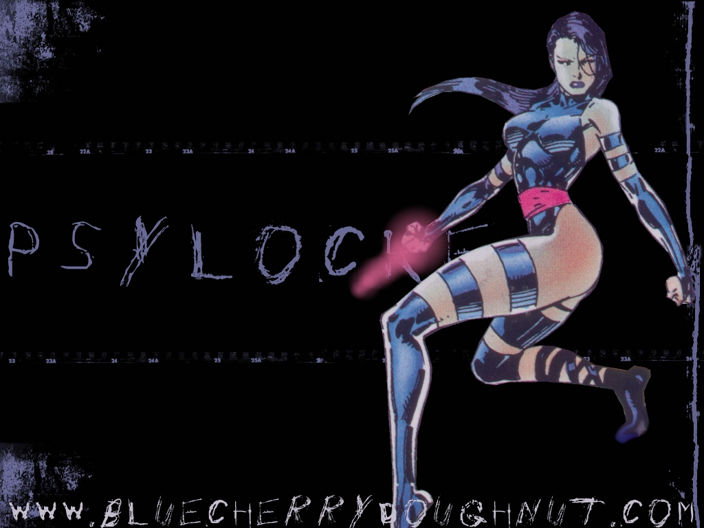 Psylocke X Men Wallpaper 25493011 1024x768