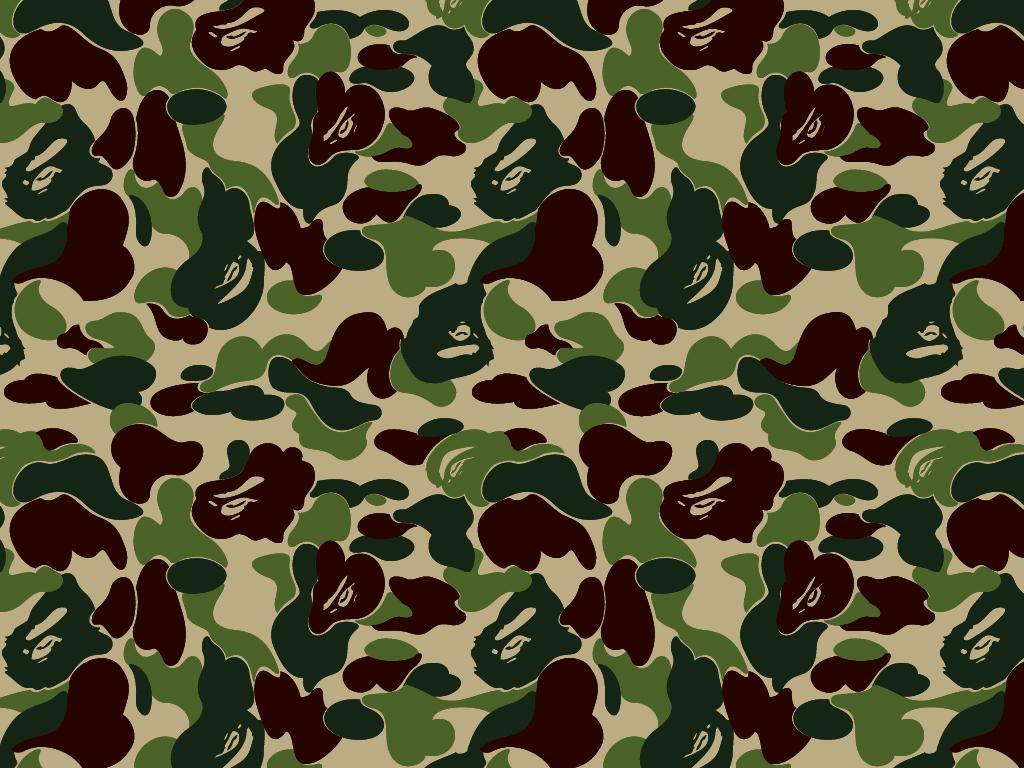 Camo Rc Bape 1024x768 pixel Army HD Wallpaper 8123 iWallScreen 1024x768