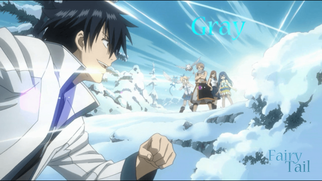 Fairy Tail Gray Wallpapers 1366x768