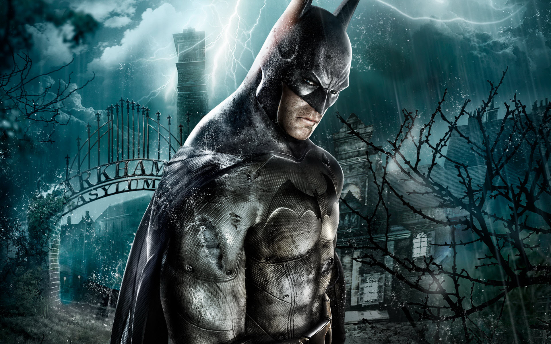 Batman Arkham Asylum Game Wallpapers HD Wallpapers 1920x1200
