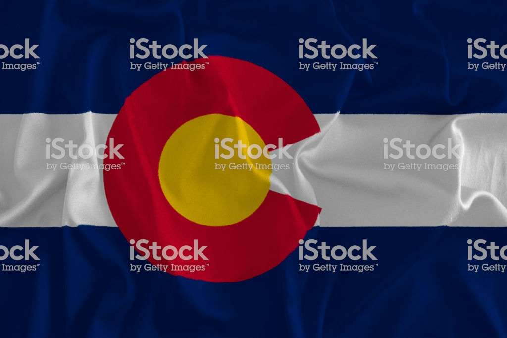 Flag Of Colorado Background The Centennial State Stock Photo 1024x682