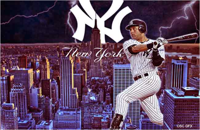 Wallpapers   New York Yankees Derek Jeter wallpaper 650x423