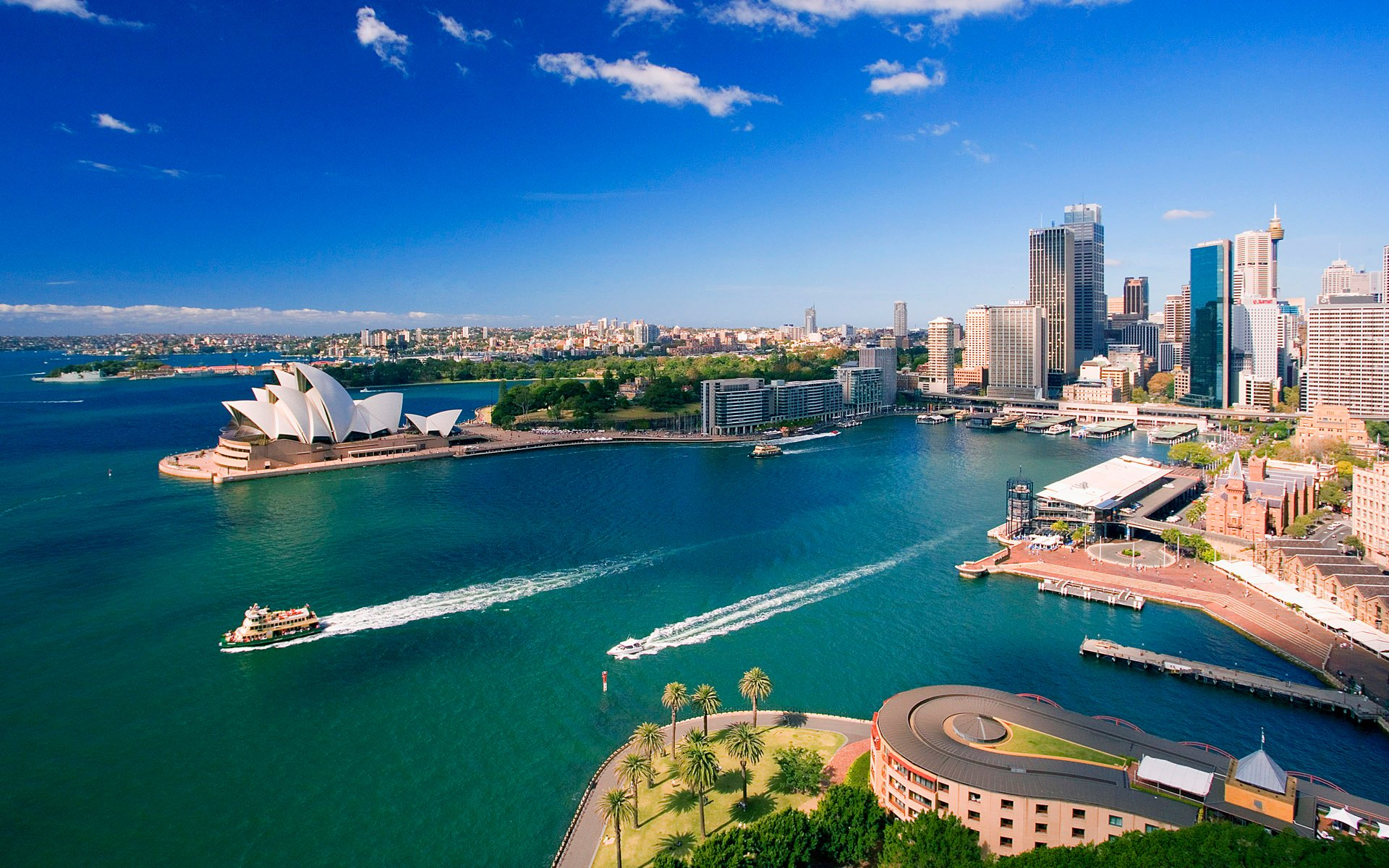 Downtown Sydney Australia Wallpapers HD Wallpapers 1920x1200