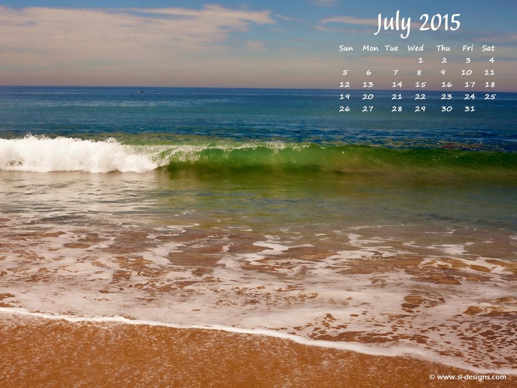 July 2015 Hot Girl Desktop Wallpaper Calendar 1024x768