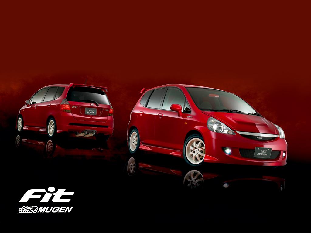 wallpaper honda fit MUGEN Car modification   Review Car 1024x768