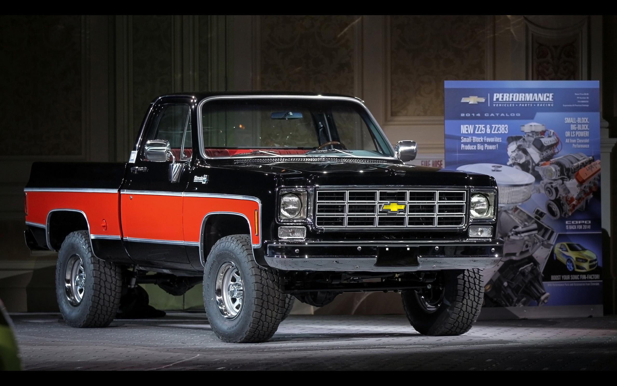 2013 Chevrolet Truck Concepts at SEMA   1978 4x4 Pickup   3 2560x1600
