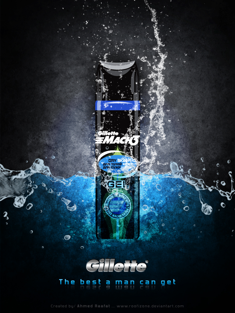 Gillette AD by Roofizone 768x1024