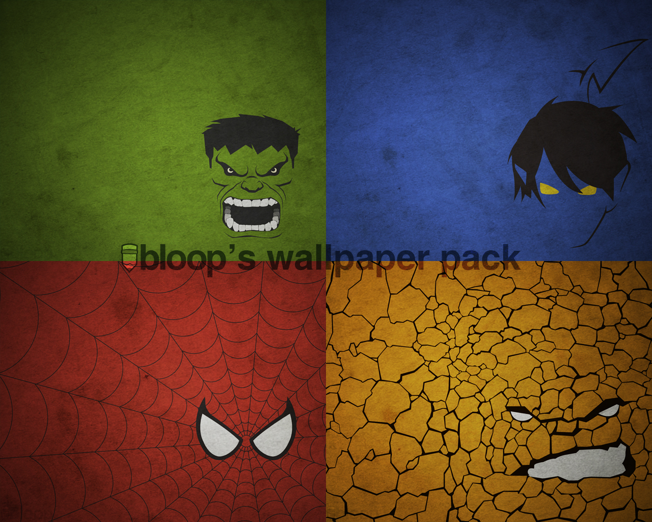 Bloops Superhero Wallpaper by blo0p 1280x1024