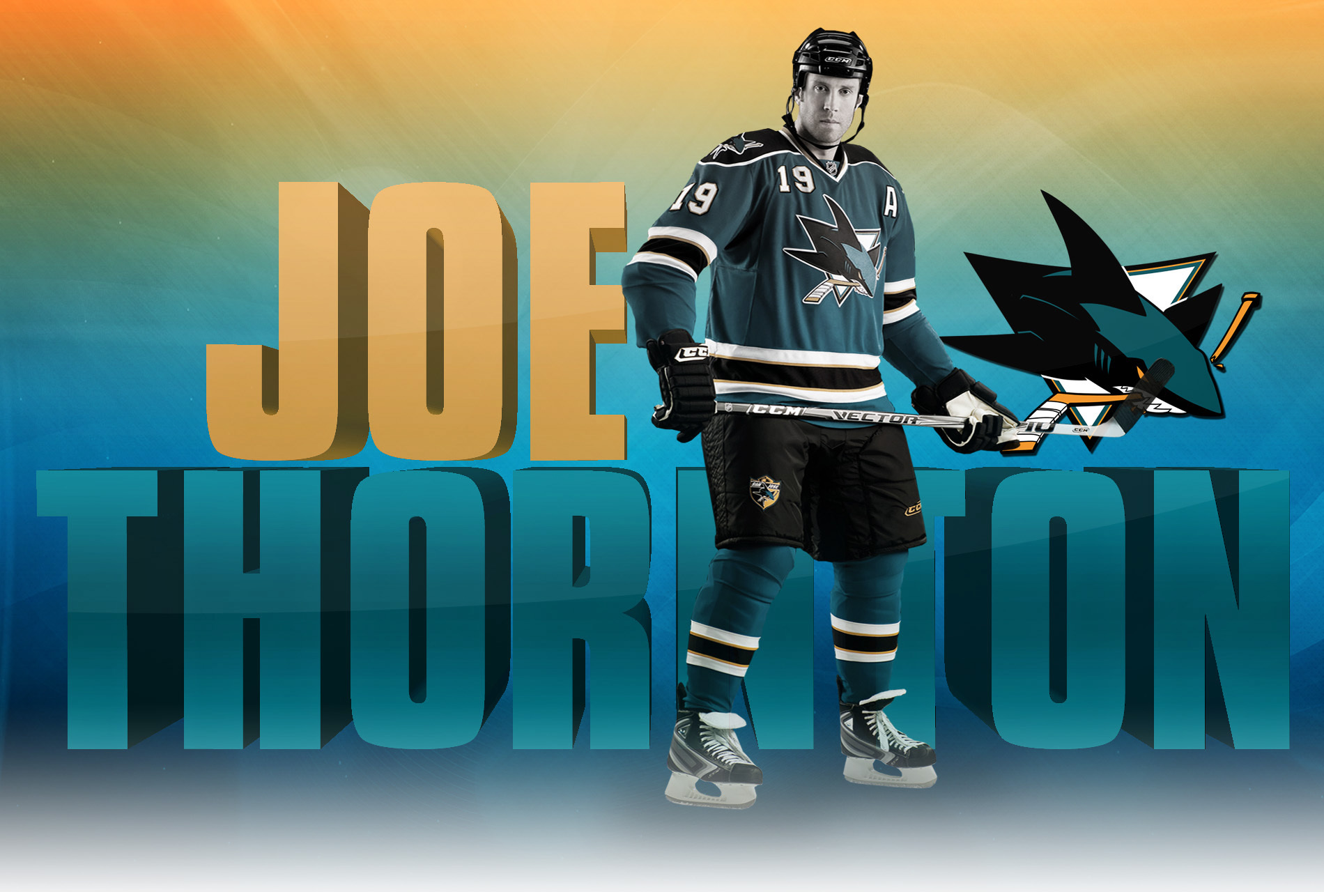 Joe Thornton wallpapers and images   wallpapers pictures photos 1900x1280