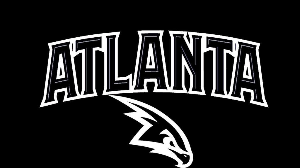NBA Black and WhiteAtlanta Hawks by DevilDog360 1024x576