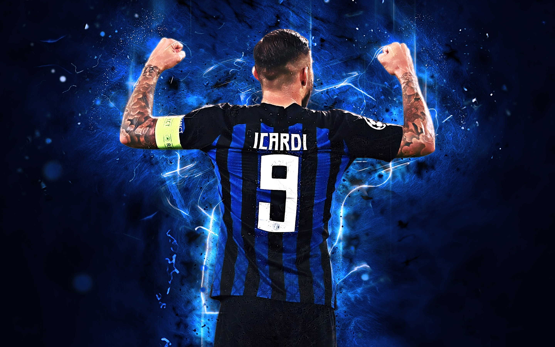 Mauro Icardi   Inter HD Wallpaper Background Image 2880x1800 2880x1800