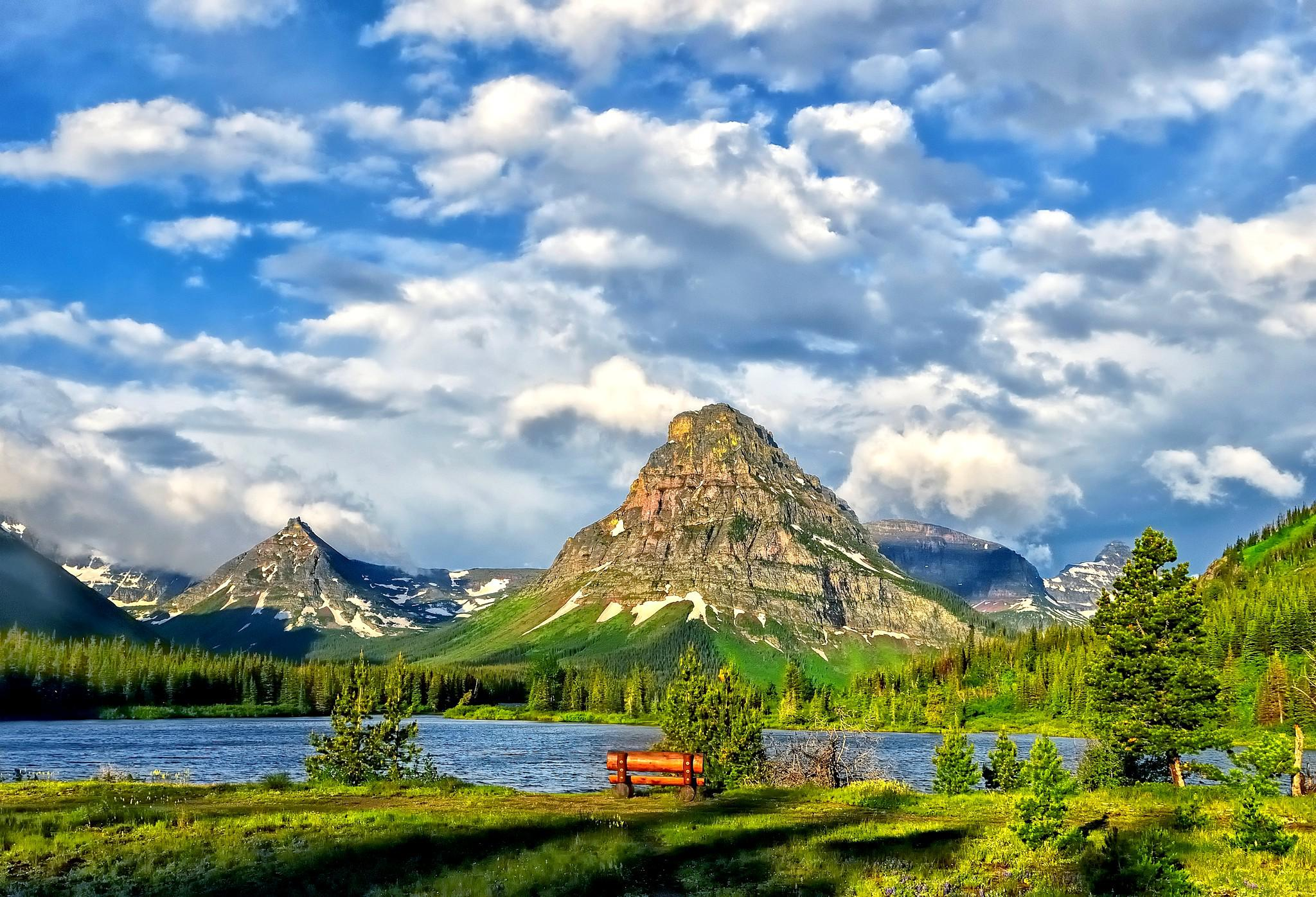 Glacier national park u s state of montana   149226   High Quality 2048x1396