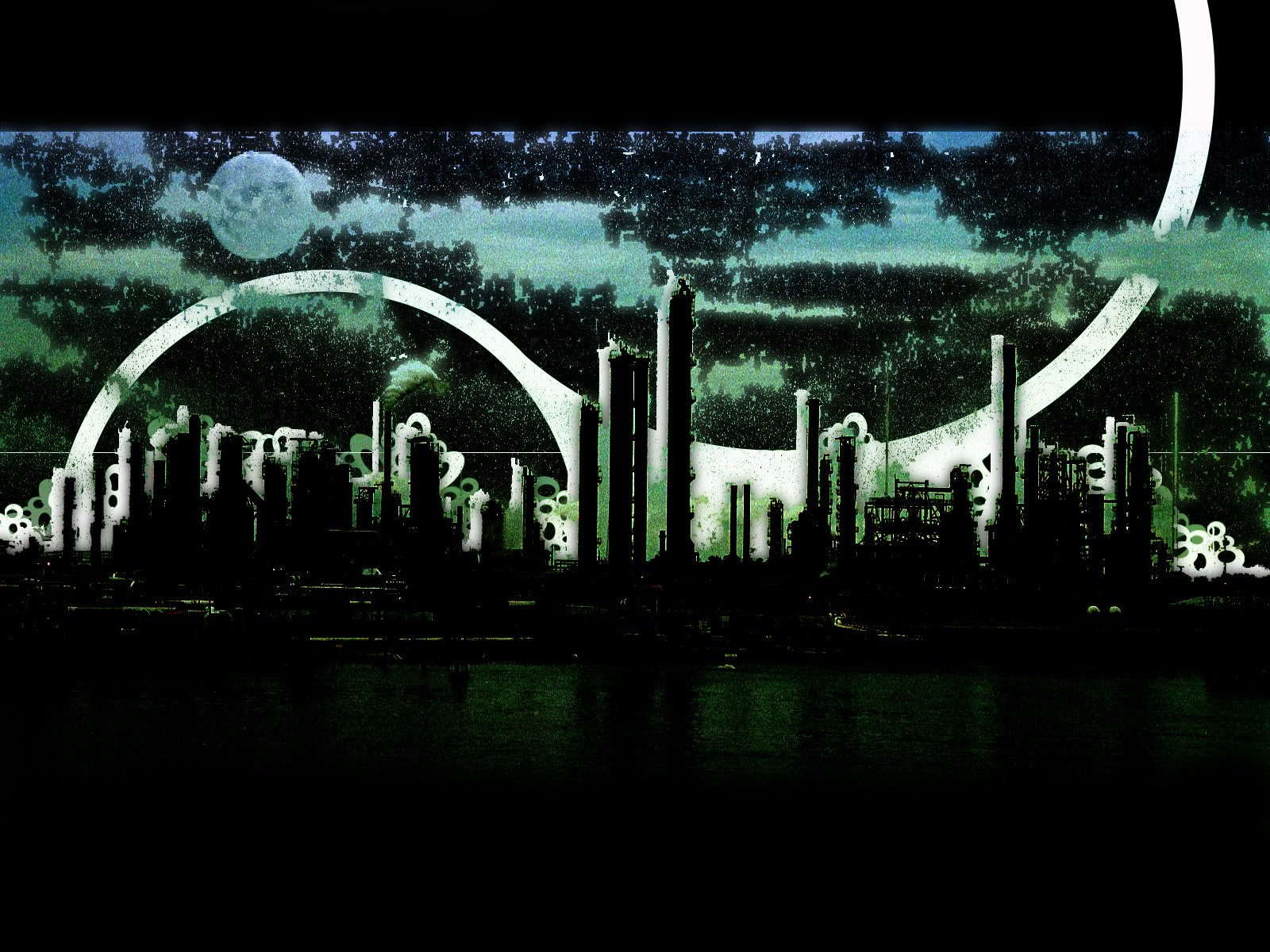 Free download dark city wallpapers metal abstract heavy