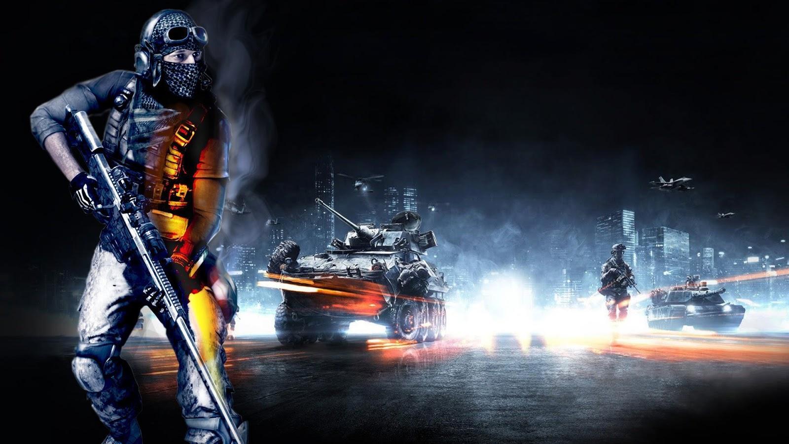 Battlefield 3 Recon Full HD Desktop Wallpapers 1080p 1600x900