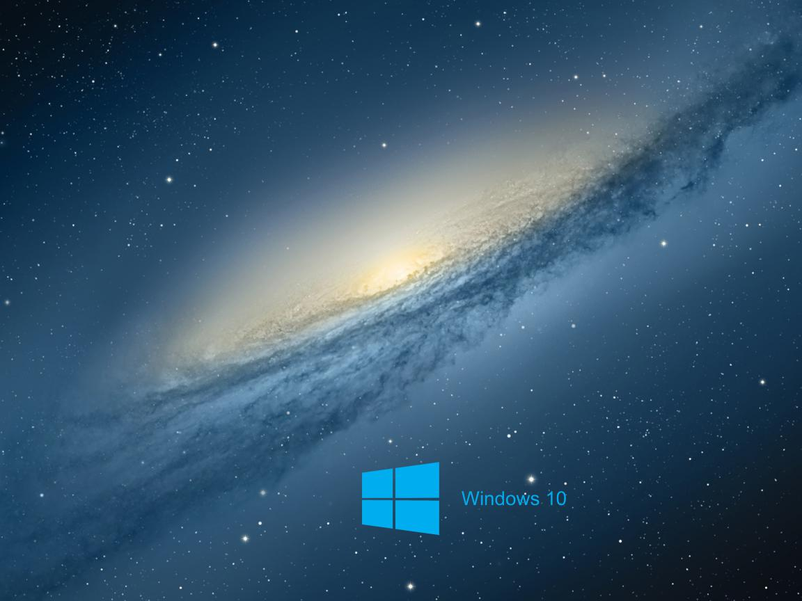 Windows 10 Desktop Wallpaper with Scientific Space Planet Galaxy Stars 1152x864