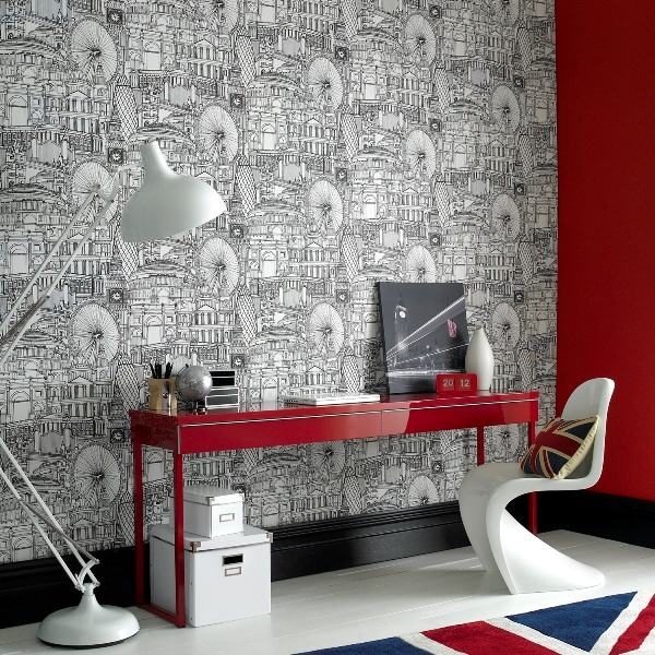 Londinium wallpaper from Graham Brown   The Design Sheppard 600x600
