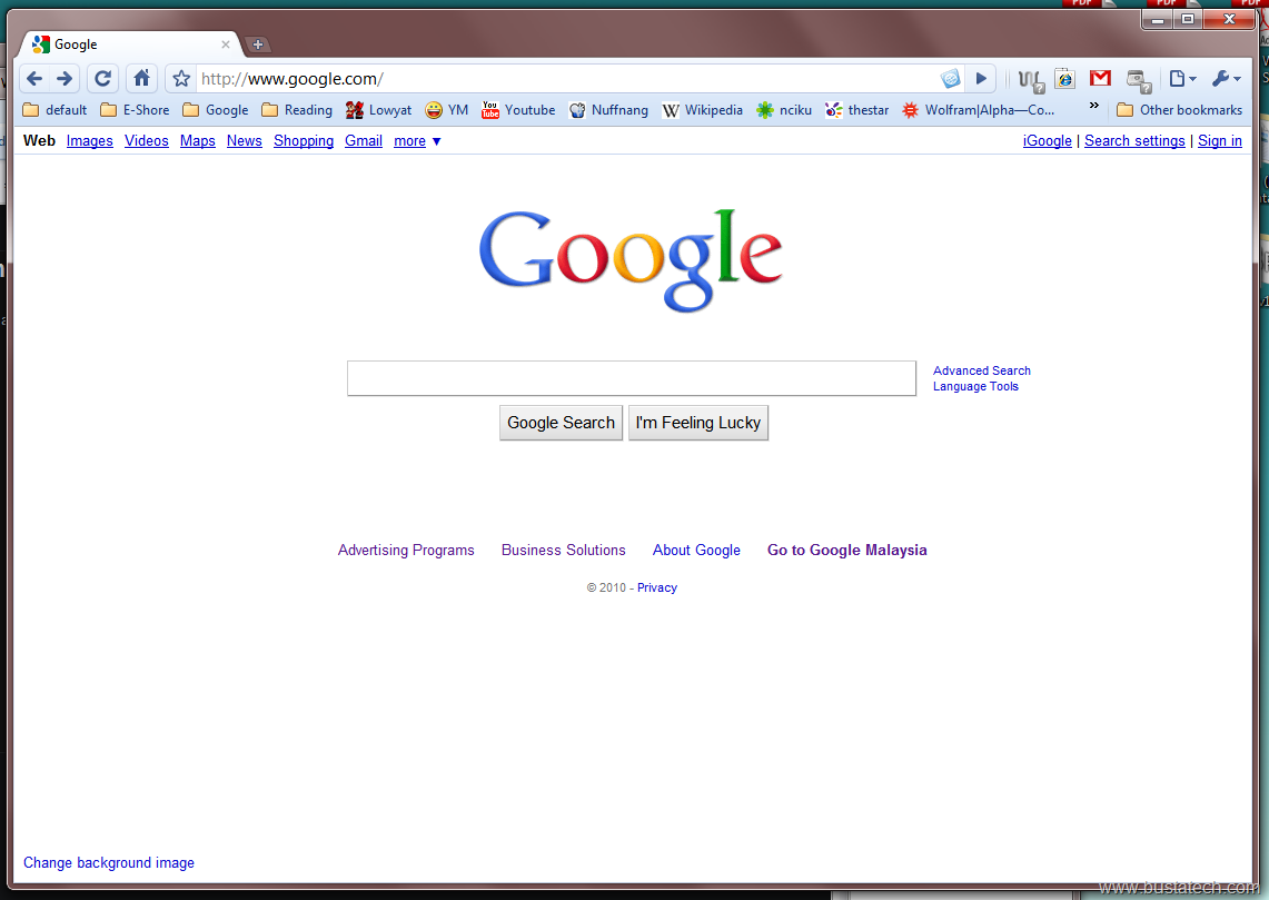 Google themes download for homepage - Google Background Image Bust A Tech