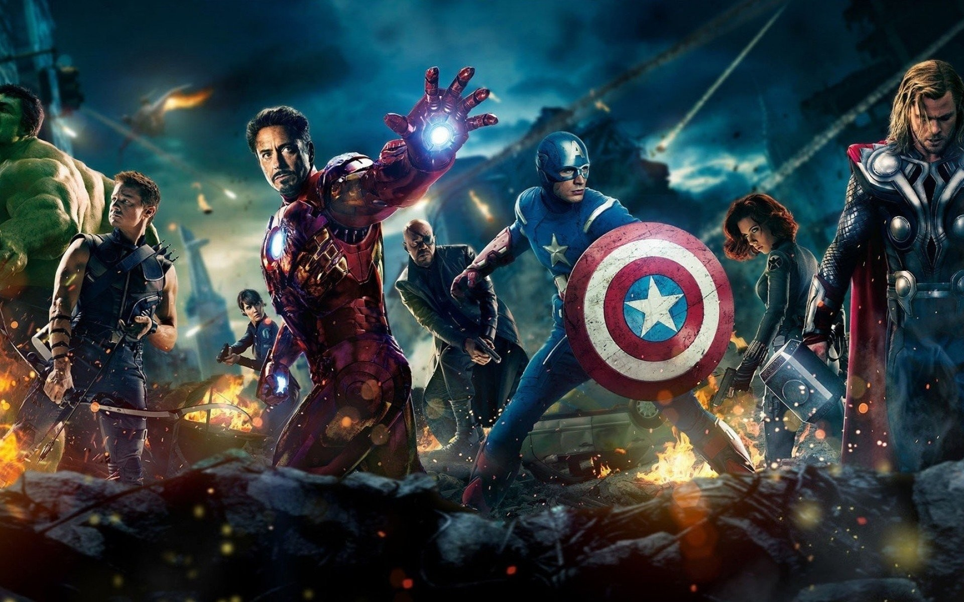 Marvel Universe Wallpaper 1920x1200