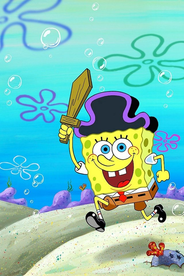 SpongeBob Wallpaper iPhone - WallpaperSafari