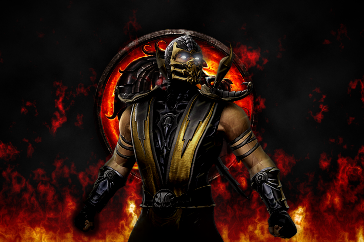 Mortal Kombat Scorpion Wallpaper Cool HD Wallpapers 1200x800