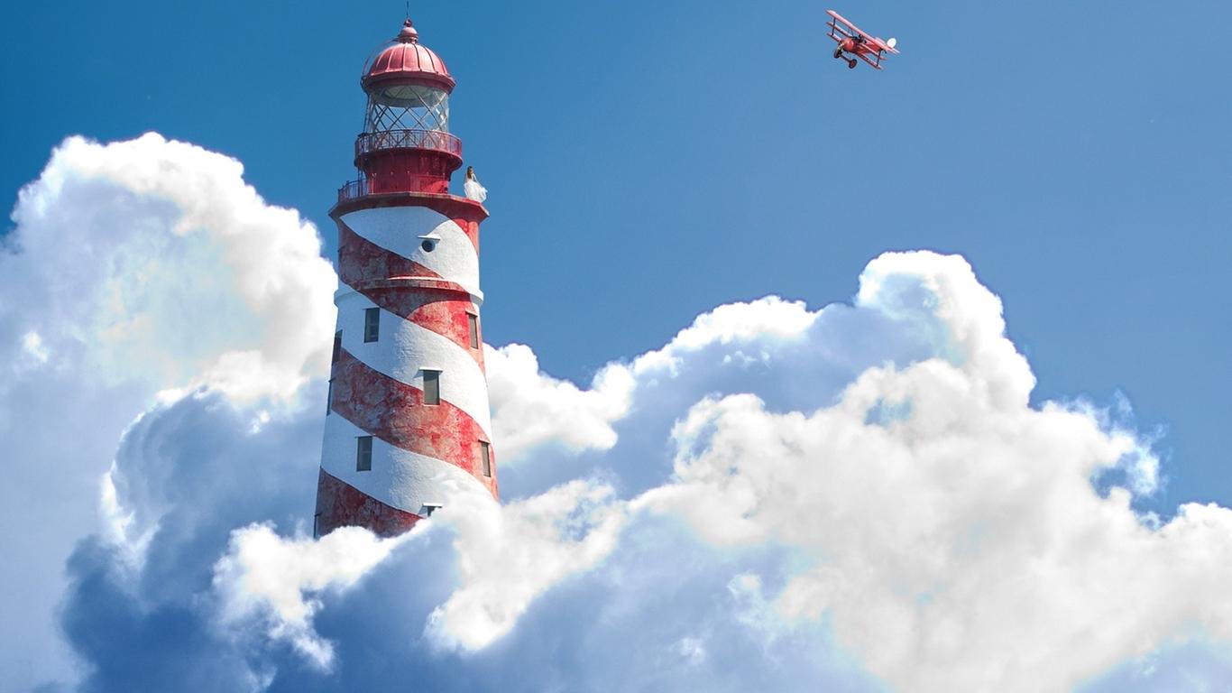 Lighthouse wallpaper 28533 1366x768