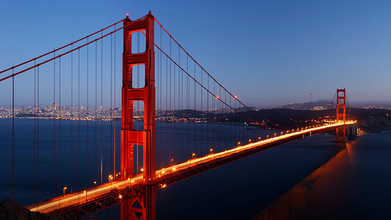 San Francisco Golden Gate Wallpaper   1366x768 iWallHD   Wallpaper HD 1366x768