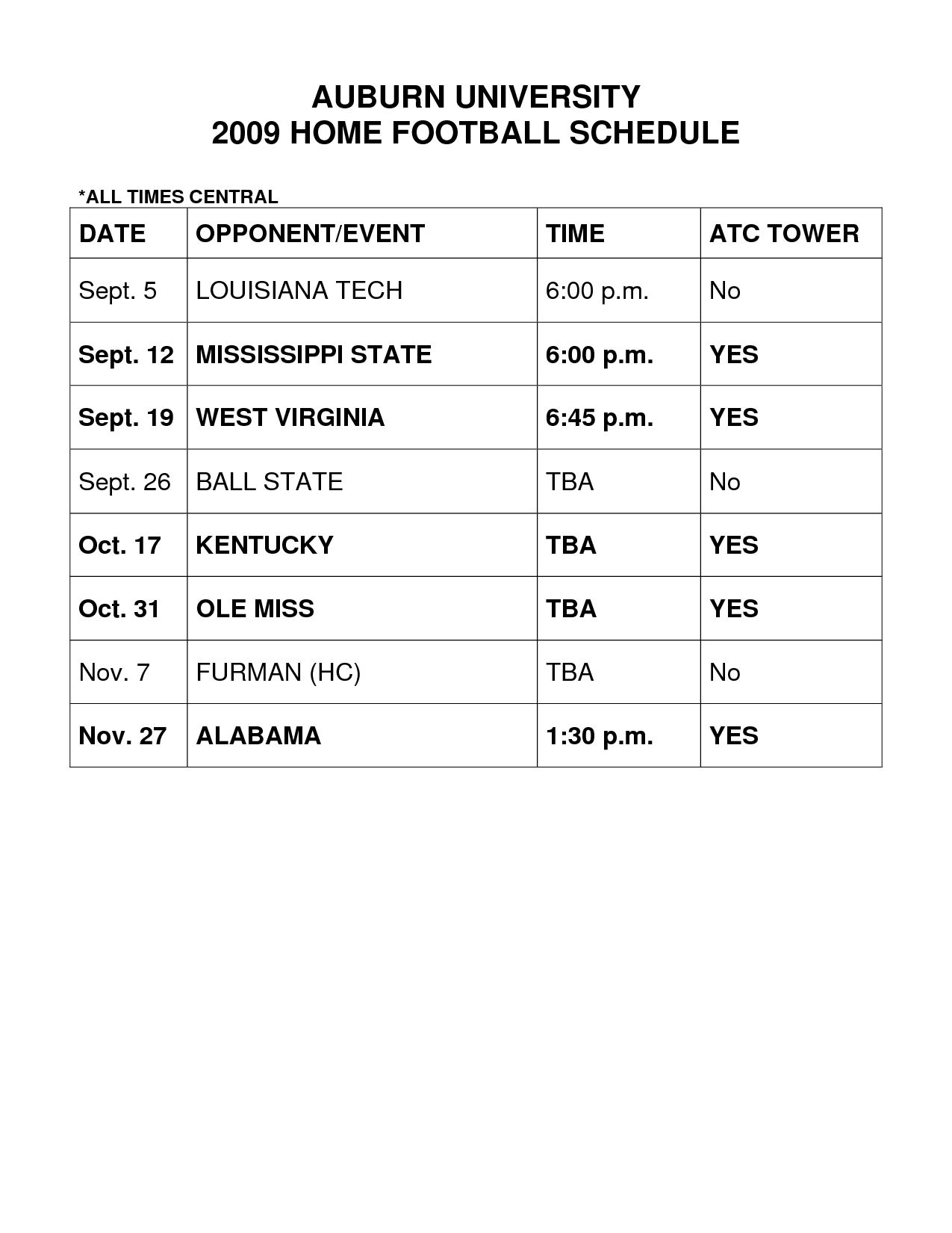 Image search University Of Kentucky Football Schedule 1275x1650