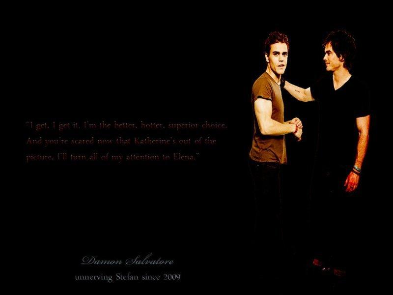 DamonStefan   Damon and Stefan Salvatore Wallpaper 20832274 800x600