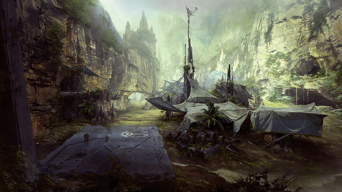 Free download Halo Concept Art hd Halo 4 Concept Art Aj Trahan