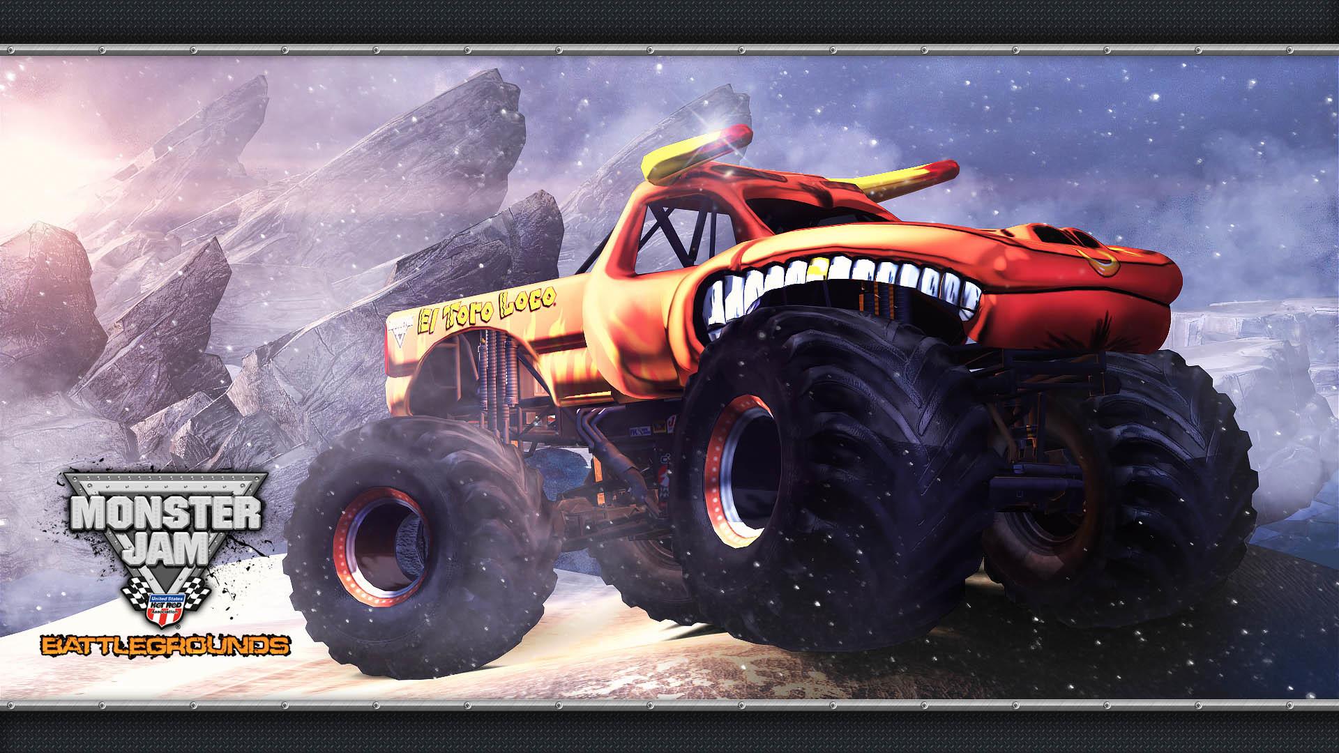Monster Truck Hd Wallpaper   El Toro Loco Background 1920x1080