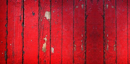 Red Barn Wood Background Peeling red paint on old barn 540x266