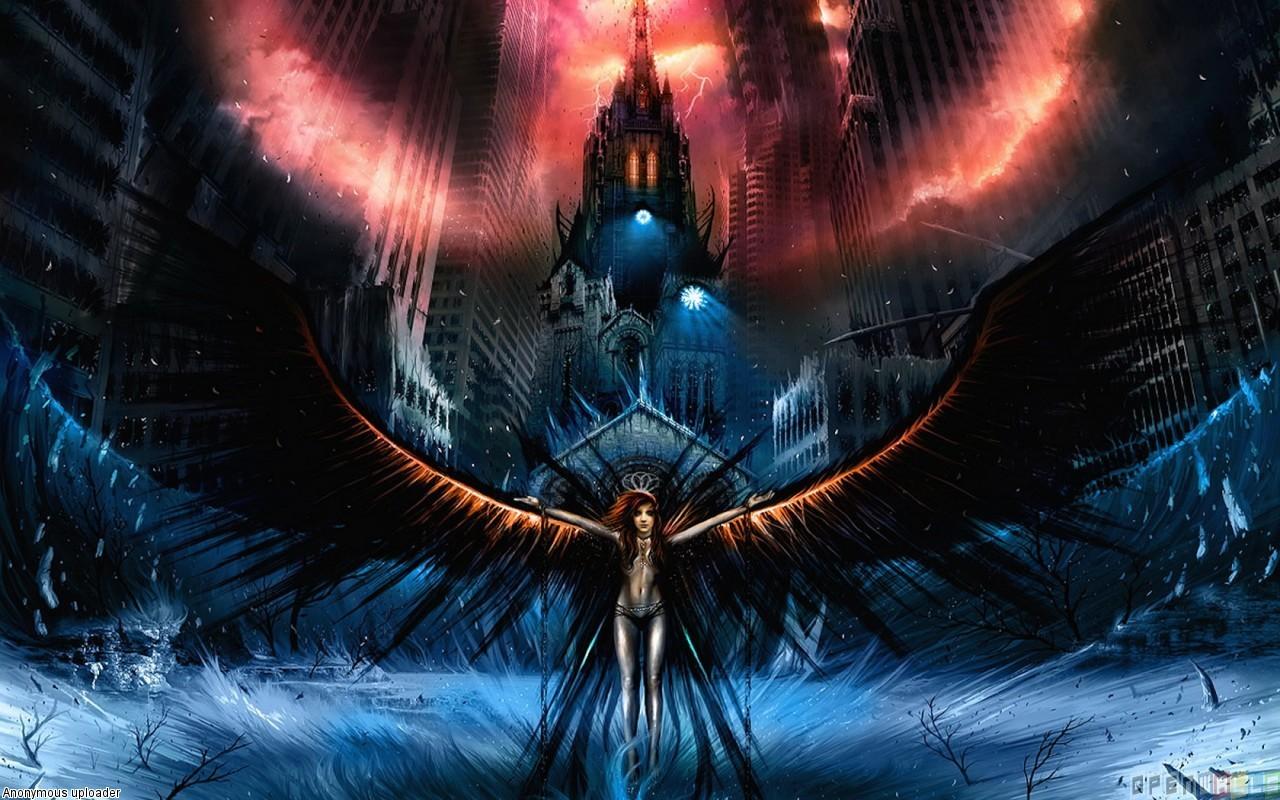 46 Dark Angel Anime Wallpaper On Wallpapersafari