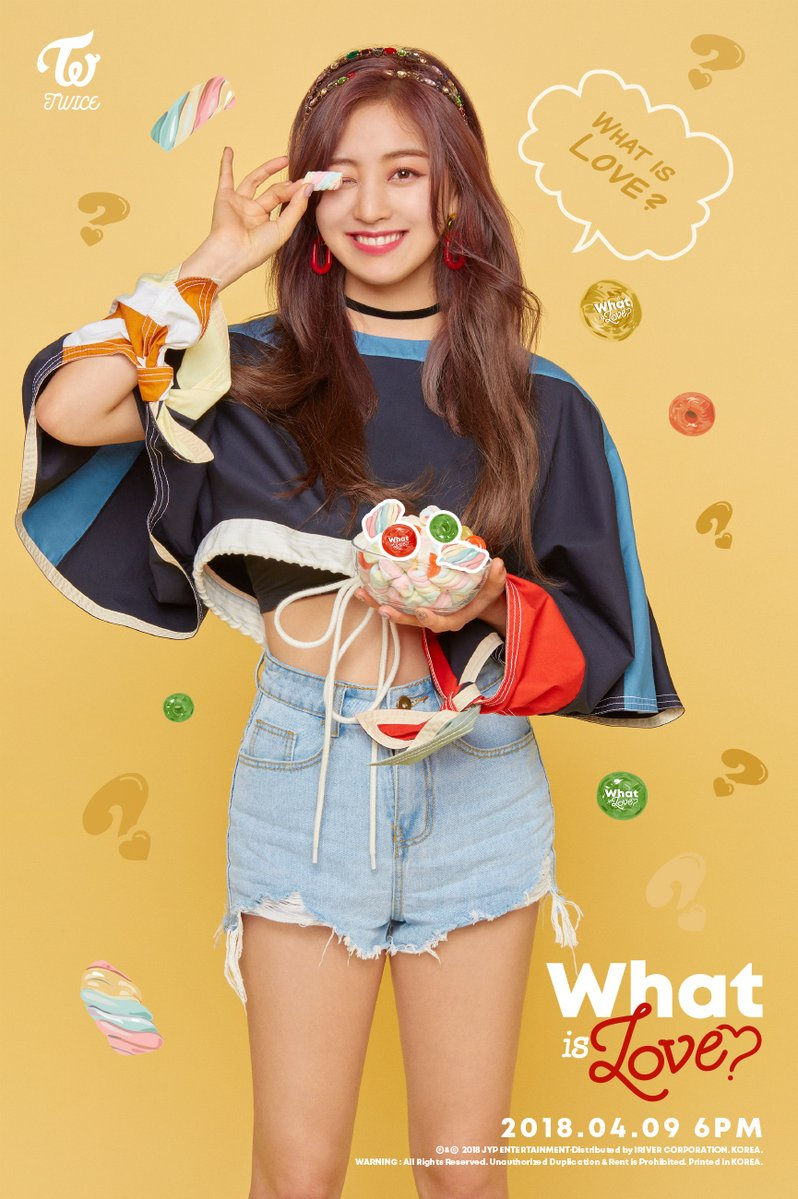 Twice JYP Ent images Jihyos teaser image for What is Love HD 798x1199