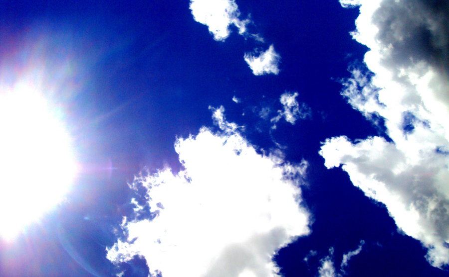 Blue Sky and Sunny Day by Cold September Yeah 900x557