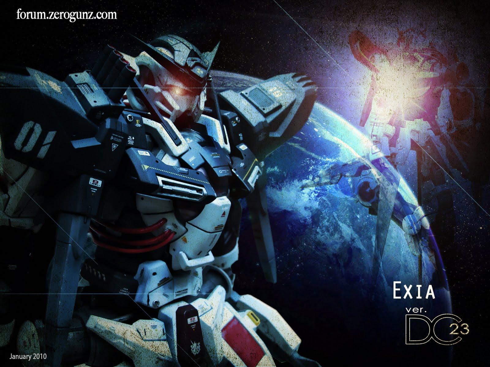 Exia wallpaper DC23 1600x1200
