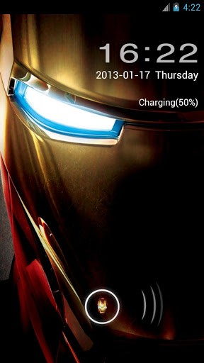 Iron Man Go Locker Theme for Android by Mister V   Appszoom 288x512