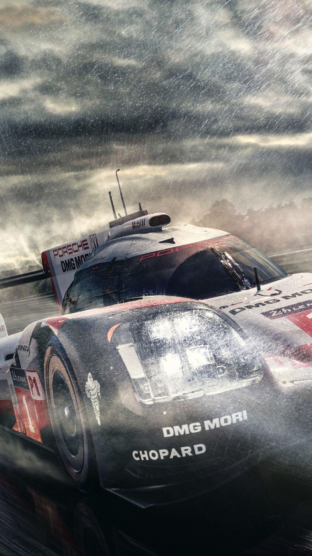 Downaload Porsche 919 hybrid formula one sports car wallpaper 1080x1920
