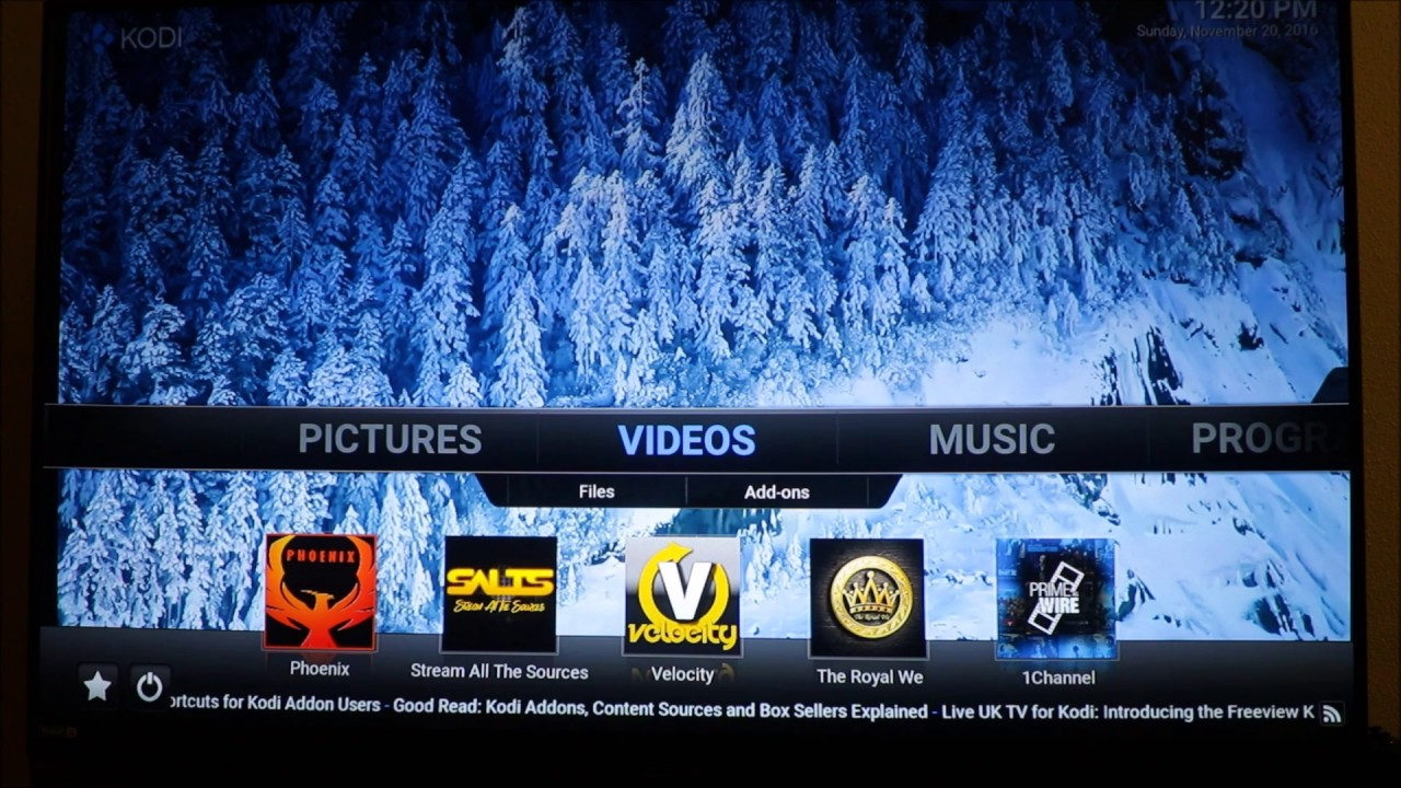 HOW TO CHANGE YOUR KODI BACKGROUND 1280x720